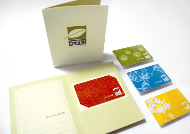 Comella Design Group | American Plant Gift Cards