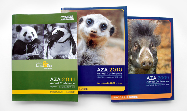 Comella Design Group | AZA Annual Conference Program Guides