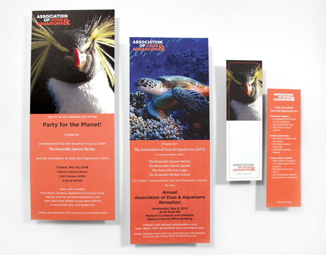 Comella Design Group | AZA Marketing Materials