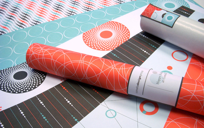 Comella Design Group | CDG Holiday Wrapping Paper