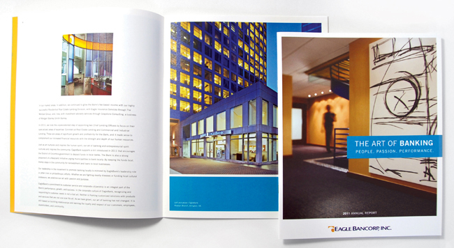 Comella Design Group | Eagle Bancorp, Inc. Annual Report 2011