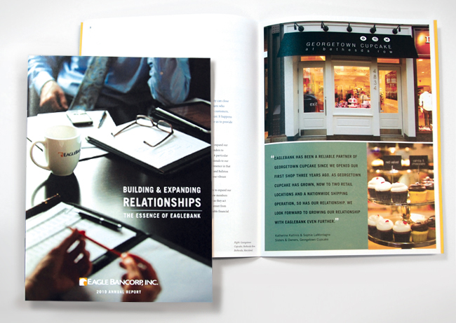 Comella Design Group | Eagle Bancorp, Inc. Annual Report 2010k Annual Report 2010