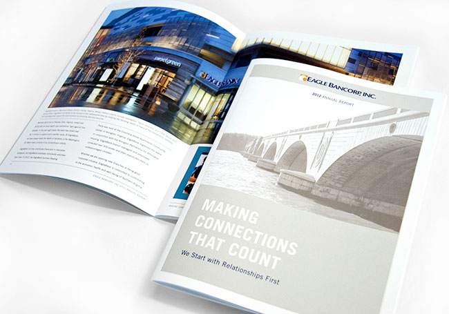 Comella Design Group | Eagle Bancorp, Inc. Annual Report 2012