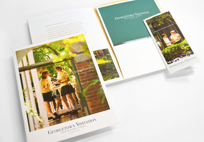 Comella Design Group | Georgetown Visitation Viewbook