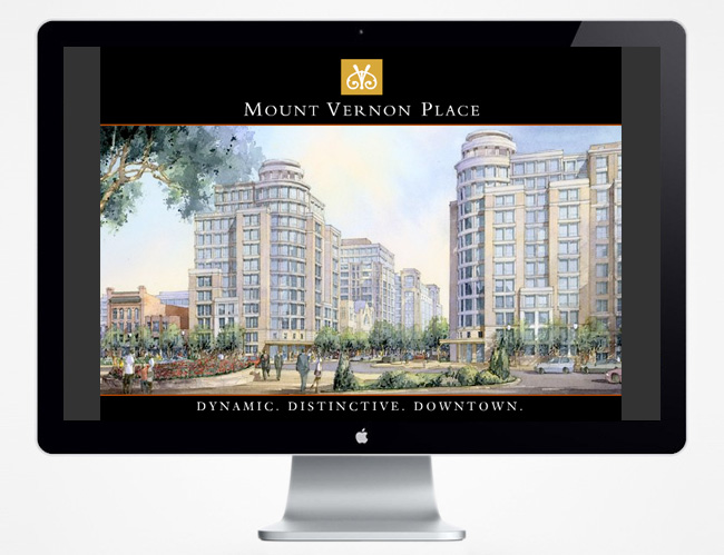 Comella Design Group | Mount Vernon Place Website