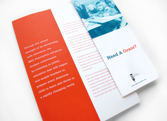 Comella Design Group | The NEA Foundation Brochure
