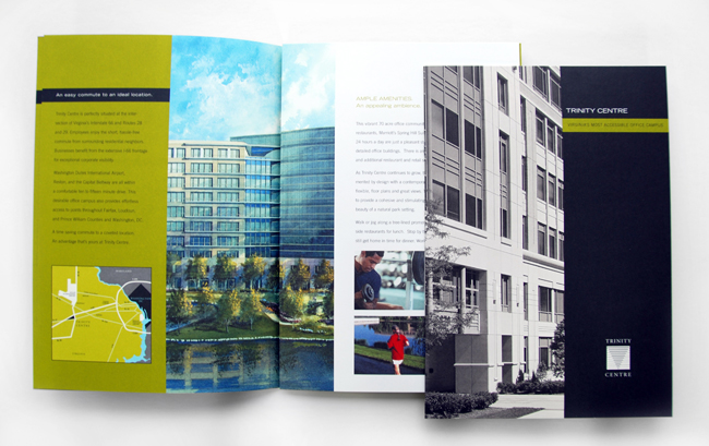 Comella Design Group | Trinity Center Brochure