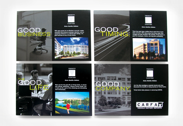 Comella Design Group | Trinity Center Postcards